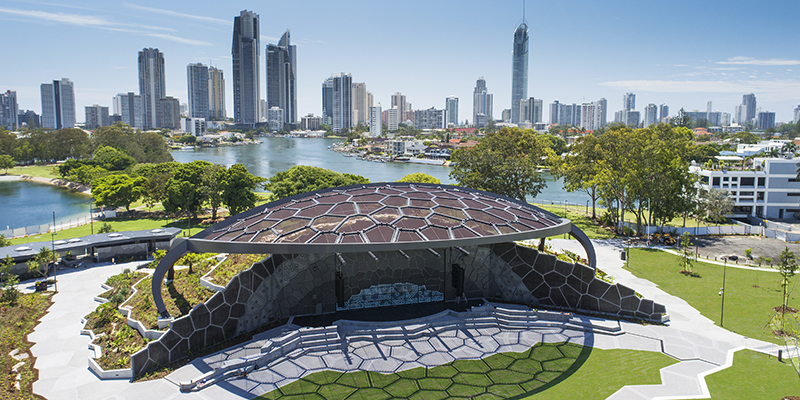 HOTA Outdoor Stage, Gold Coast